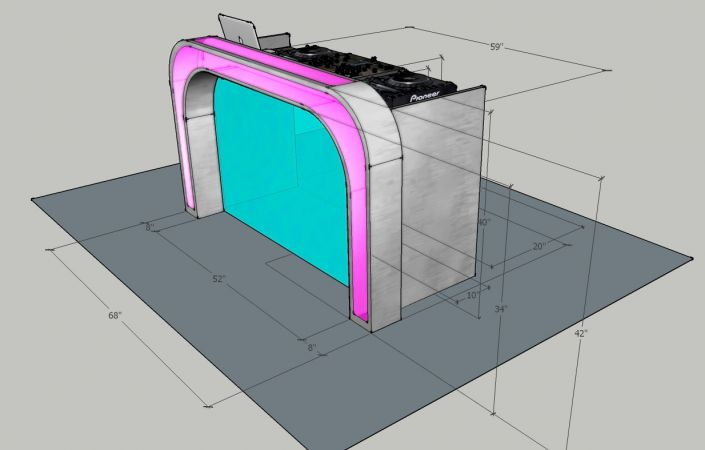Illuminated DJ Table #205<br>1,234 x 788<br>Published 1 year ago