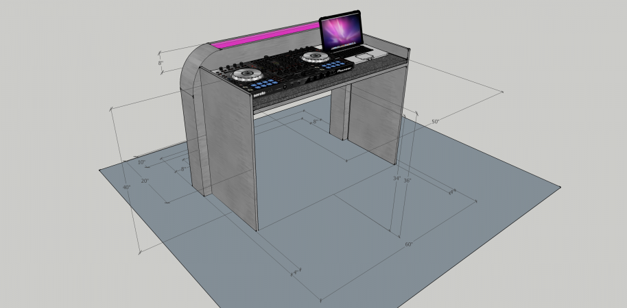 Illuminated DJ Table #208<br>2,436 x 1,200<br>Published 1 year ago